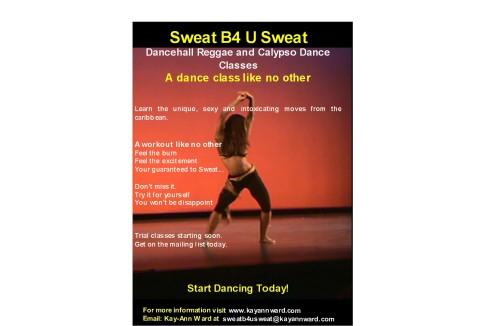 sweat b4 u sweat